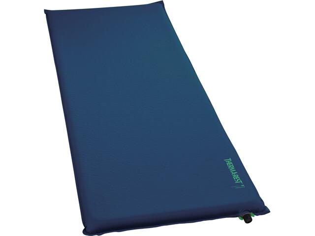 Therm-a-Rest BaseCamp Colchoneta para Dormir Largo, azul